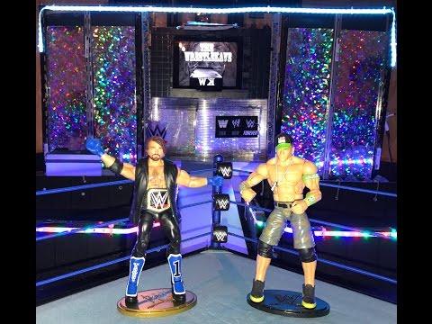 WWE Aj Styles vs John Cena WWE Royal Rumble 2017 WWE Championship Match