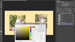 Шаблоны для фотокниги - как с ними работать(Инструкция по работе с нашими psd-шаблонами. Как быстро вставить фотографии, поменять фон и изменить цвет..., 2015-05-28T11:02:48.000Z)