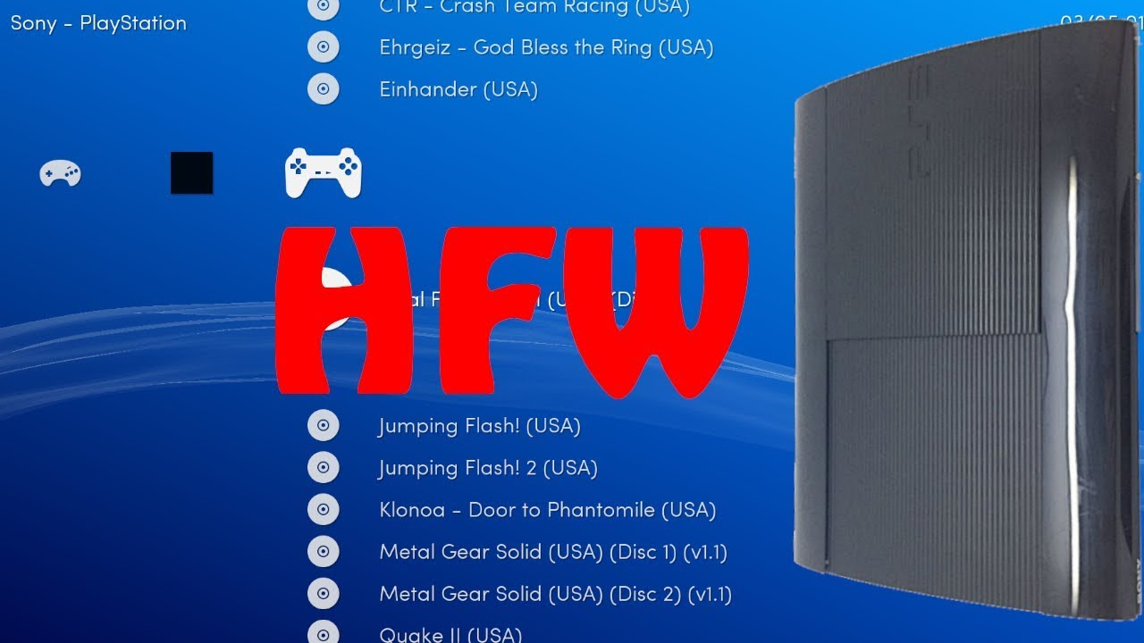 HEN PS3 4 84 HFW Homebrews COMPATIBLE MULTIMAN-RETROARCH | TODOS MODELOS-  #PS3xploit