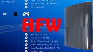 HEN PS3 4.84 HFW Homebrews COMPATIBLE MULTIMAN-RETROARCH   TODOS MODELOS- #PS3xploit