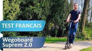 Wegoboard Suprem 2.0 : Une marque française pour une trottinette électrique performante