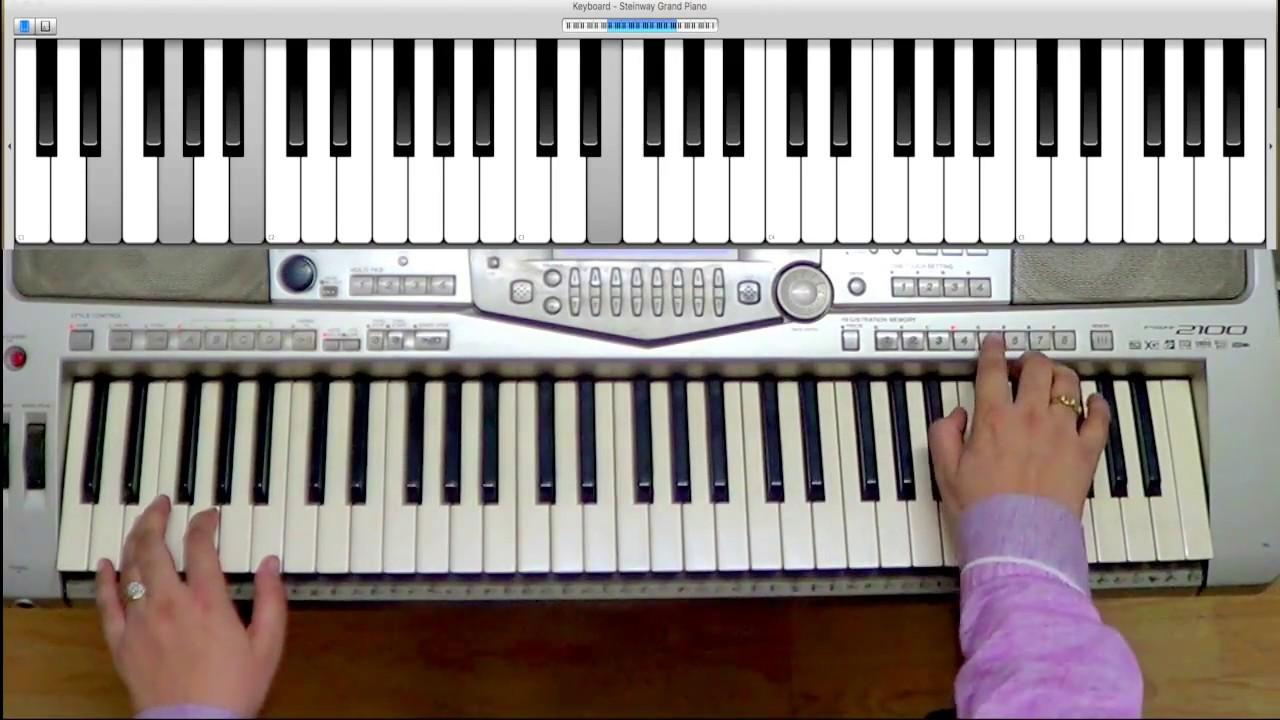 Scarborough Fair Electronic Keyboard Grade 1 Exam 2015 -2018 - Trinity