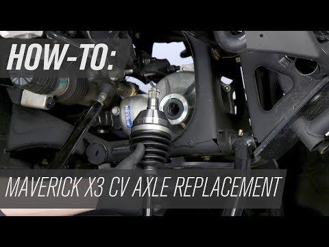 Pair of Rear CV Joint Axles 2018 Can-Am Maverick Max X3 Turbo 4x4