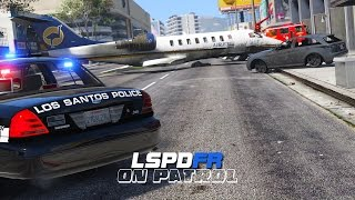 LSPDFR - Day 216 - Plane Crash (Live Stream)