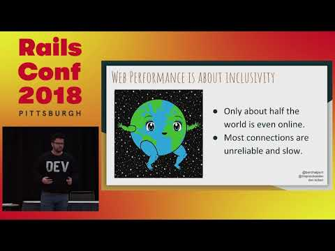 RailsConf 2018: How We Made Our App So Fast it Went Viral in Japan by Ben Halpern