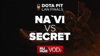 NaVi vs Secret, DotaPit Finals, Quarterfinal, Game 3