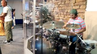 GREAT ARE YOU LORD drum cover