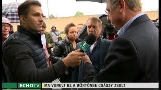 Gyurcsány szerint Császy Zsolt koncepciós per áldozata - Echo Tv