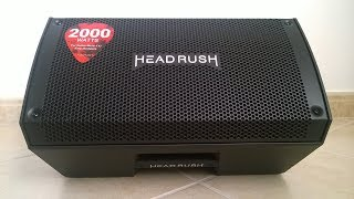 Headrush FRFR-108 Active Monitor (unboxing - no talking)