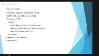 PL SQL Data Types»XMLType BASICO