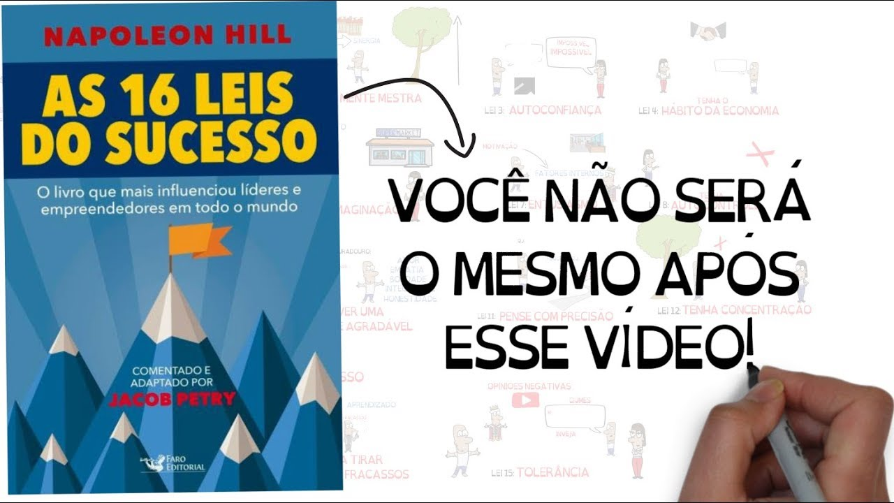 As 16 Leis Do Sucesso Napoleon Hill Jacob Petry