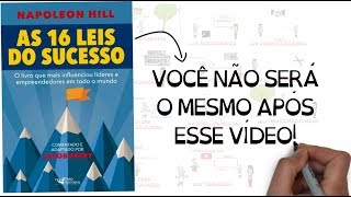 AS 16 LEIS DO SUCESSO | Napoleon Hill | Jacob Petry | SejaUmaPessoaMelhor