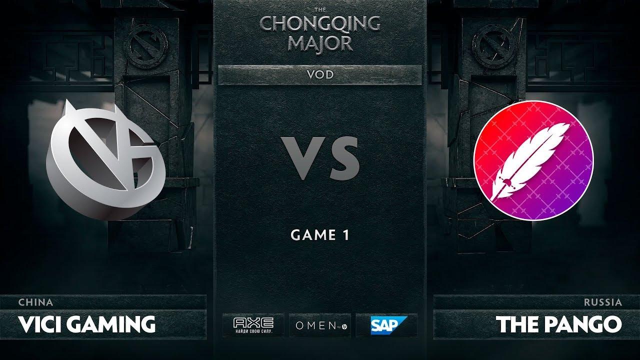 [RU] Vici Gaming vs The Pango, Game 1, The Chongqing Major Group C