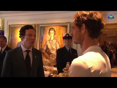When Andy Murray met Benedict Cumberbatch