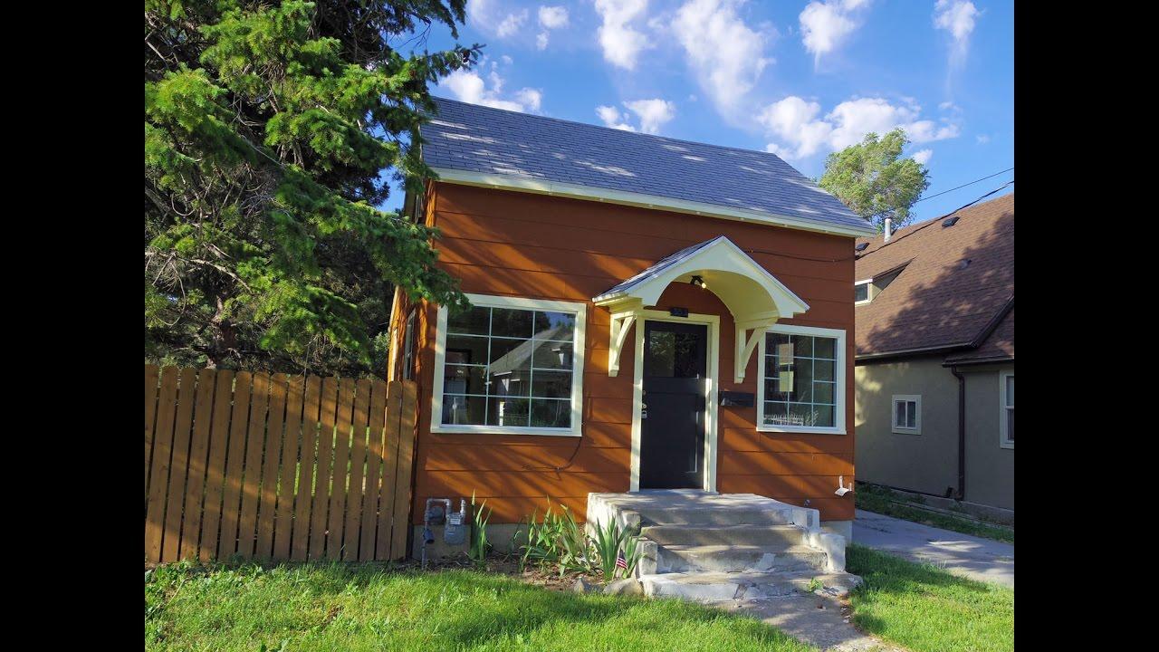 For Sale Tiny House Cottage Ogden Utah Youtube