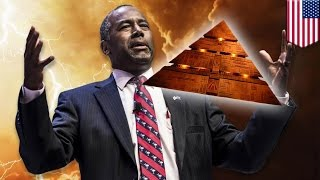 Ben Carson theories: Pyramids were used to store grain, not pharaohs