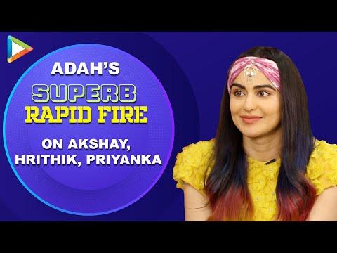 """Akshay Kumar - Fitness advice, Hrithik Roshan -... "": Adah Sharma | Rapid Fire | Bypass Road"