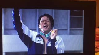 広瀬智紀さんの男水!唯一水に入っているところ.