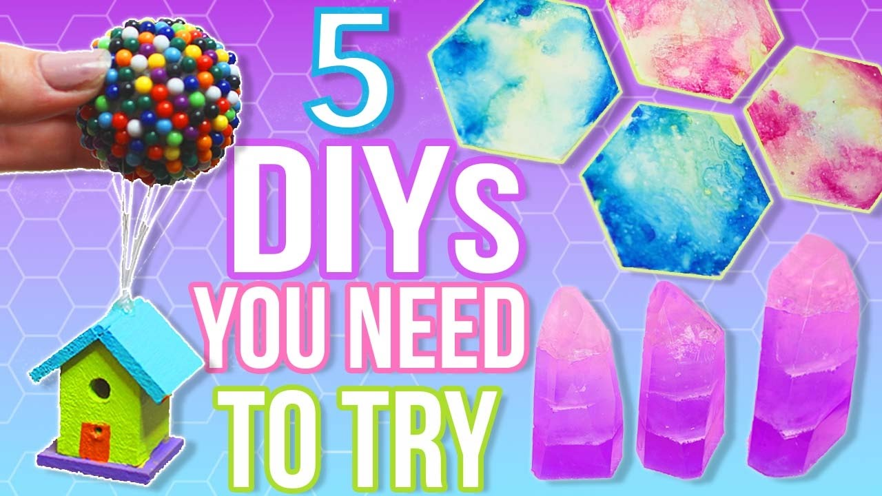 5 diys to do when you are bored quick and easy diy ideas youtube quick and easy diy ideas solutioingenieria Choice Image