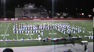 Melbourne High School Pride of Mel Hi Marching band MPA 2014