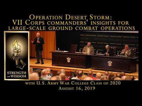 Operation Desert Storm - VII Corps Commander Insights - Gen. Frederick Franks