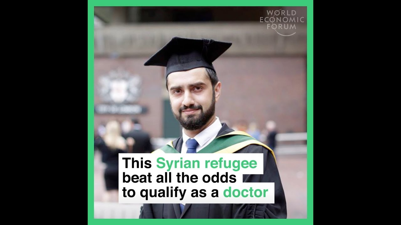 This Syrian refugee beat all the odds to qualify as a doctor