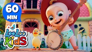 Yankee Doodle 🤠 Learn English with Songs for Children | LooLoo Kids