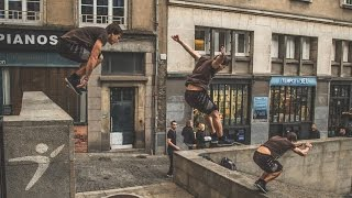 Stay Pure. | Parkour in France by Charles Brunet