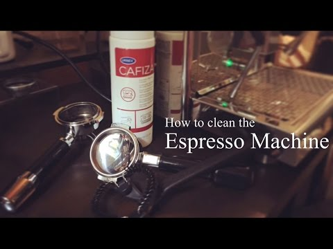 How to clean the Espresso Machine!!☕︎エスプレッソマシンの清掃方法!