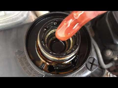 خلط زيت المكينة مع الماء حل المشكلة بي ام دبليو Bmw Mixed Oil And Water At Engine Oil Cooler Youtube