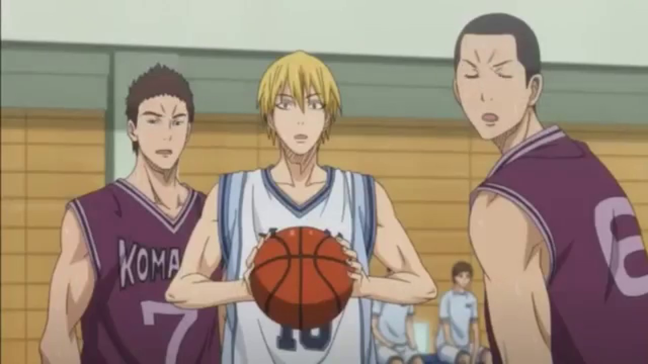 Kuroko No Basket: Kise first match with Kuroko