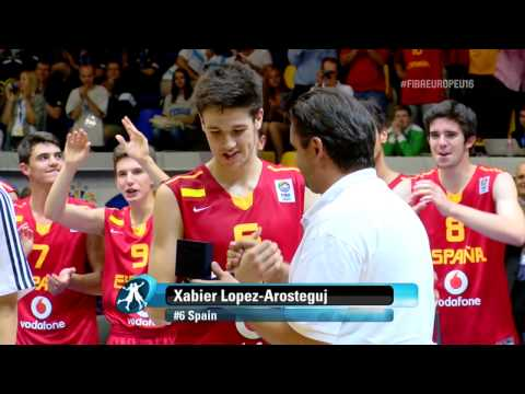Video | Γιώργος Παπαγιάννης : στην κορυφαία πεντάδα του ευρωπαϊκού πρωταθλήματος U16 Μen 2013 (Kyiv, Ukraine)
