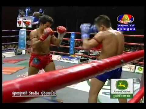 Kun Khmer Keo Rumchong Vs Chan Rothana (69kg) 6-7-2013