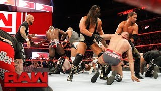 Sheamus & Cesaro vs. The Miztourage: Raw, March 12, 2018