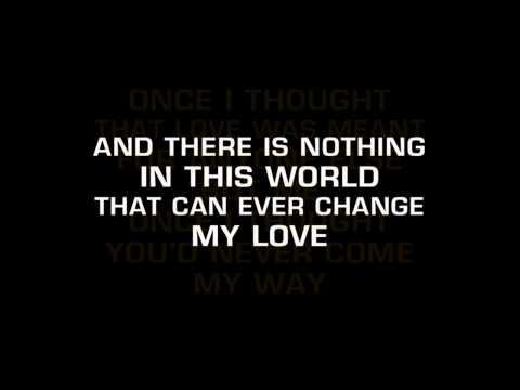 Petula Clark - My Love (Karaoke)