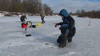 Рыбаков Нет Одни на Льду Морозы Ударили Рыбалка в Феврале