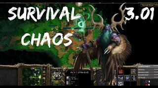 Survival Chaos - The Plague Boy! | Warcraft 3 | WarBoss