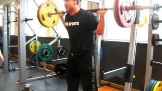 jonte 40 reps at 100kg squat