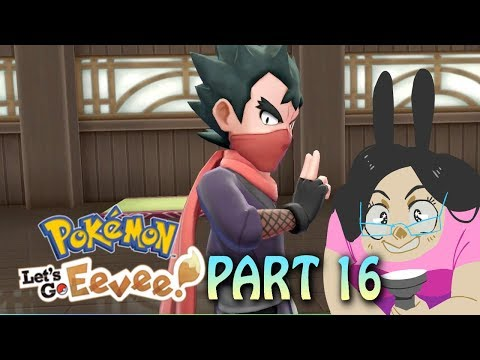 Poison KOGA Gym! Pokemon Lets Go Eevee! Part 16