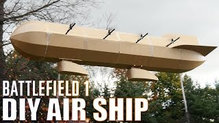 diy air ship battlefield 1   flite test