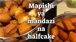 JINSI YA KUPIKA MANDAZI NA HALF CAKE