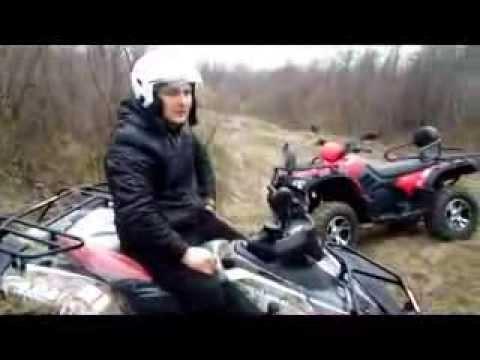 Тест драйв купить квадроцикл CF Moto 500-2A Basic и Linhai 400