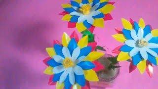 Membuat Bunga Dahlia Dari Kertas Nan Cantik & Menawan