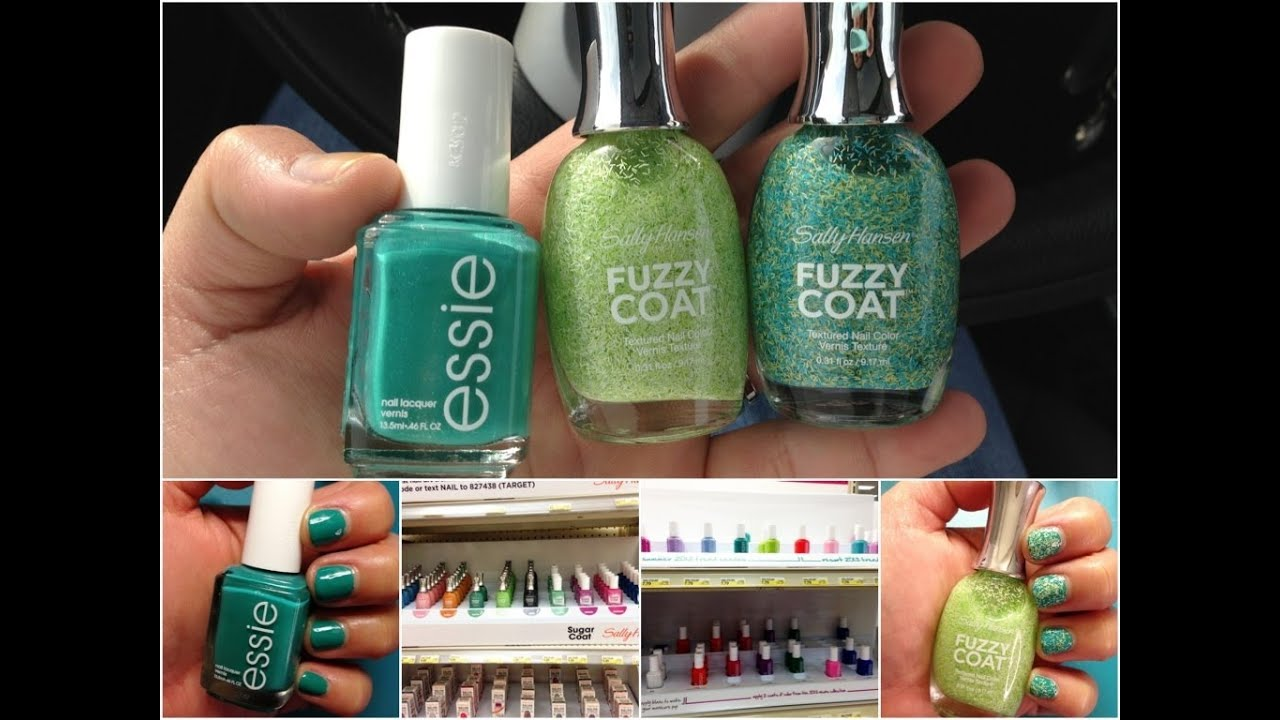 Mini Target Nail Polish Haul! Essie and Sally Hansen Fuzzy Coat ...
