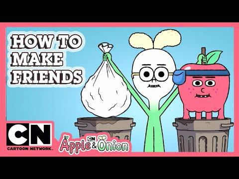 Apple & Onion   How To Make Friends   Cartoon Network UK 🇬🇧