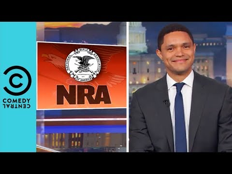 Everyone's Breaking Up With The NRA | The Daily Show With Trevor Noah thumbnail