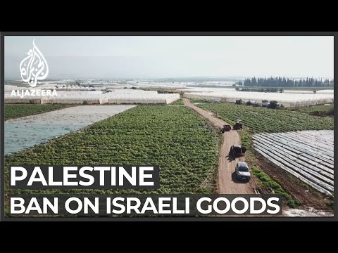 Palestinian Government Bans Some Israeli Products