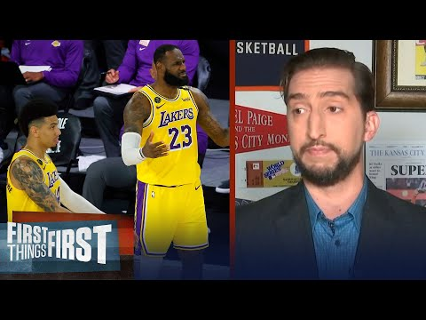 Nick Wright reacts to the Lakers blowout loss to OKC   NBA   FIRST THINGS FIRST