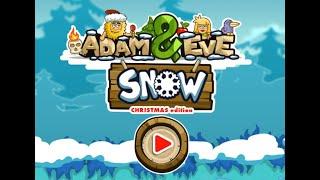 Adam and Eve: Snow Walkthrough || Adam and Eve: Snow Solución en Español
