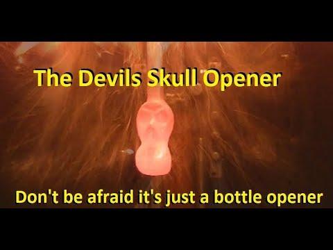 Forgings/blacksmithing Skull Bottle Opener